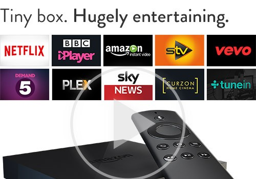 Amazon Fire TV for £79! 4.4 out of 5 stars!