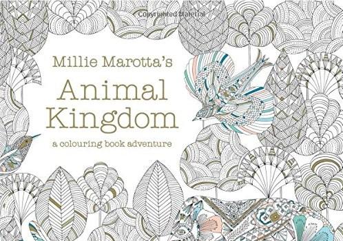 Millie Marotta's Animal Kingdom – A Colouring Book Adventure